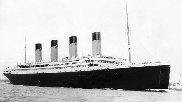 The RMS Titanic. (Source: Wikimedia Commons)