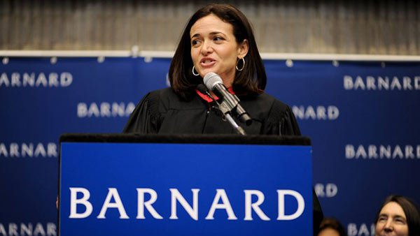 Facebook COO Sheryl Sandberg says she leaves the office by 5:30 each day, and has done so for years. (Source: Facebook)