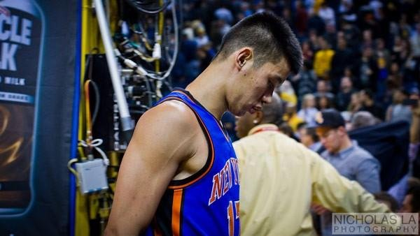Breakout NBA star Jeremy Lin could be leaving the New York Knicks and signing with the Houston Rockets. (Source: Nicholas LA/Flickr)