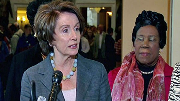 House Minority Leader Nancy Pelosi, D-CA, said funding for women's health services should not be cut to accommodate subsidized federal student loans. (Source: CNN)