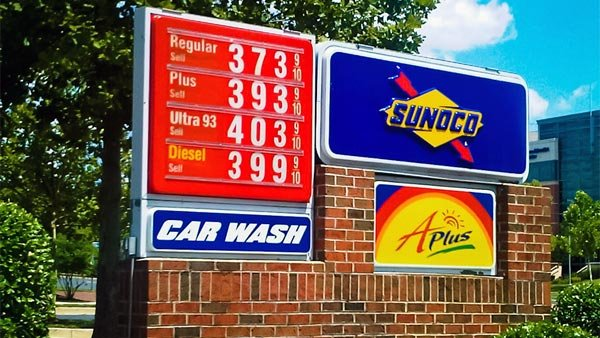 Gas hit its highest prices in July 2011, when 1 gallon of regular unleaded gas averaged $4.11 according to AAA. (Source: Nakeva Corothers/Flickr)