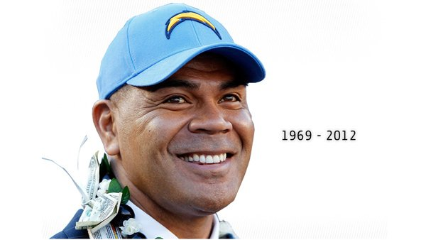 The San Diego Chargers website honored their former teammate. (Source: www.chargers.com)