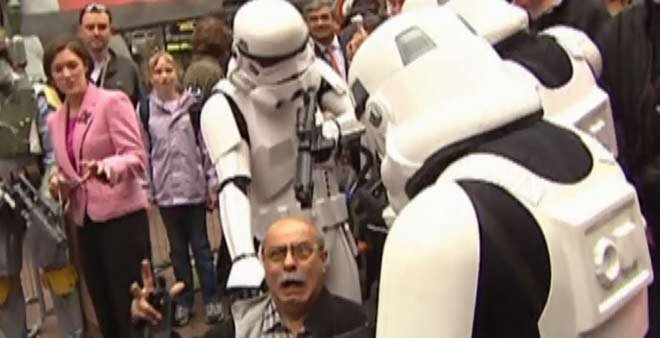 May the Fourth is known in Star Wars fan circles as Star Wars Day.  (Source: CNN)