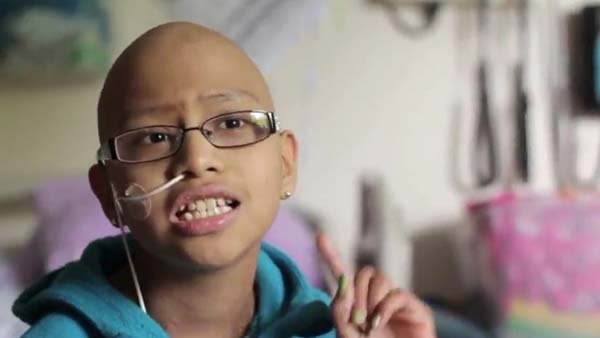 Cancer patients at Seattle Children's Hospital made a lip dub video of the Kelly Clarkson song Stronger. (Source: Seattle Children's Hospital/YouTube)