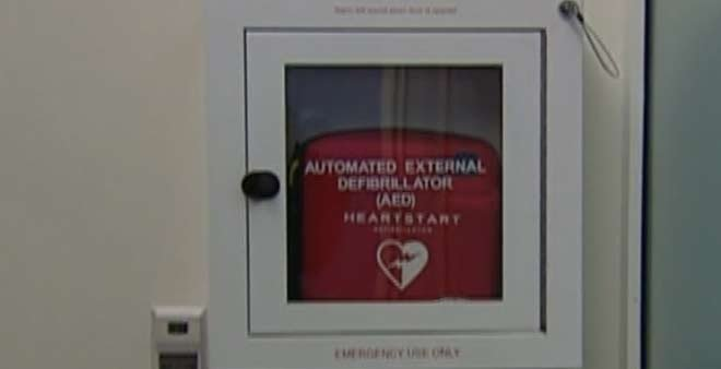 Around a million AEDs have been sold around the U.S. in airports, shopping malls, and gyms.  (Source: CNN)