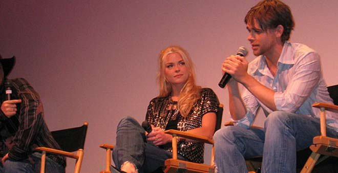 Nick Stahl speaks at a 'Sin City' press event in 2005. (Source: Flickr/medialife)