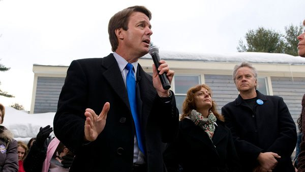 John Edwards was a candidate for president in 2007 when news of his affair with Rielle Hunter was published in a tabloid. (Source: Wikicommons)