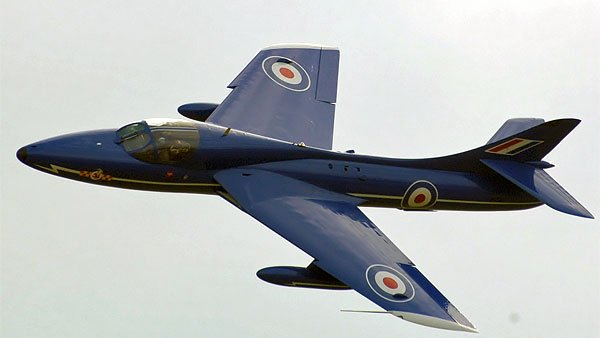 Hawker Hunter T.7 (Wikimedia Commons, FILE)