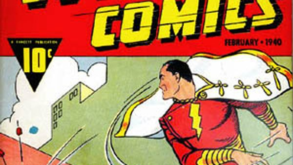 DC Comics, home of Batman, Superman and Captain Marvel (pictured), announced one of their heroes will become openly gay. (Source: Wiki Commons)