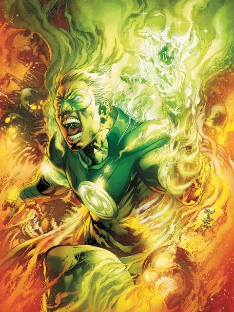The Green Lantern of the series 'Earth 2' will be reintroduced as a gay man in June. (Source: DC Comics)