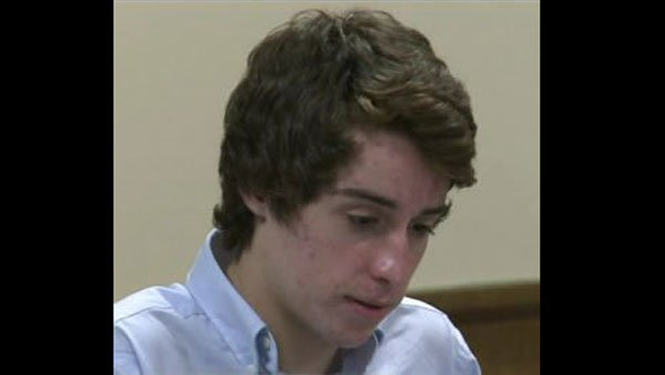 T.J. Lane, 17, is accused of opening fire on students at a school cafeteria in Chardon, OH in February. (Source: WOIO)