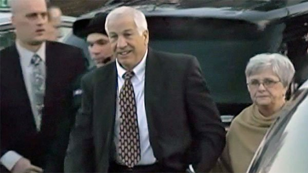 ABC is reporting former Penn State football assistant coach Jerry Sandusky, 68, sent one of his victim love letters. (Source: CNN)