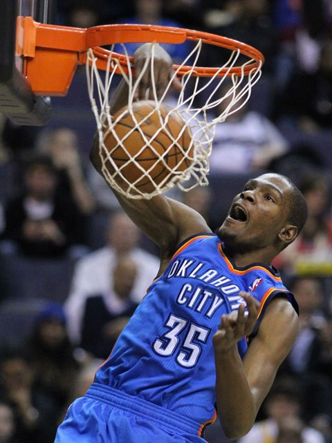 Kevin Durant leads the Oklahoma City Thunder against the Miami Heat in the NBA Finals, starting Tuesday. (Source: Keith Allison/Flickr)