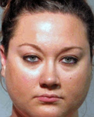 Shelly Zimmerman - the wife of George Zimmerman, who is accused in the shooting of Trayvon Martin - was arrested for perjury. (Source: Seminole County Sheriff's Office)