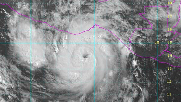 Hurricane Carlotta. (Source: National Weather Service)