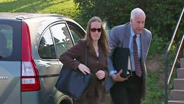 Jerry Sandusky arrives to court earlier this week to undergo trial for allegedly molesting young boys while he was a member of the Penn State football staff. (Source: CNN)