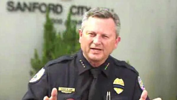 Sanford, FL Police Chief Bill Lee came under fire after his department failed to arrest George Zimmerman. He was fired Wednesday. (Source: CNN)