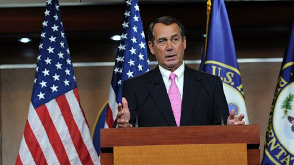 Rep. John Boehner is now Speaker of the House. (Source: PBS)