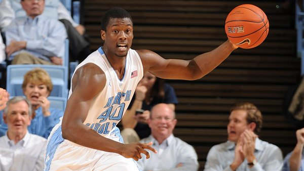 North Carolina's Harrison Barnes is projected as a Top-10 pick in Thursday's NBA Draft. (Source: UNC Athletics)