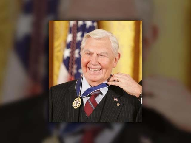 The family of Andy Griffith announced he died at his North Carolina home Tuesday. (Source: Executive Office of the President of the United States)