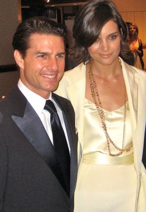 Tom Cruise and Katie Holmes appear at an unnamed event. They were married Nov. 18, 2006. (Source: Wiki Commons)