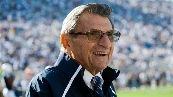 Former Penn State football coach Joe Paterno. (Source: psu.edu)