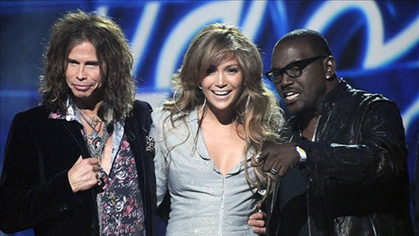 Steven Tyler and Jennifer Lopez have both said they are leaving 'American Idol.' Judge Randy Jackson is to the right. (Source: BIllboard)