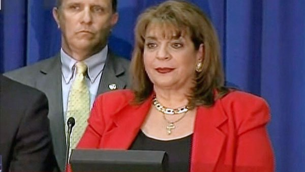 Florida Special Prosecutor Angela Corey announces the second-degree murder charges against George Zimmerman on April 11. (Source: FNC)