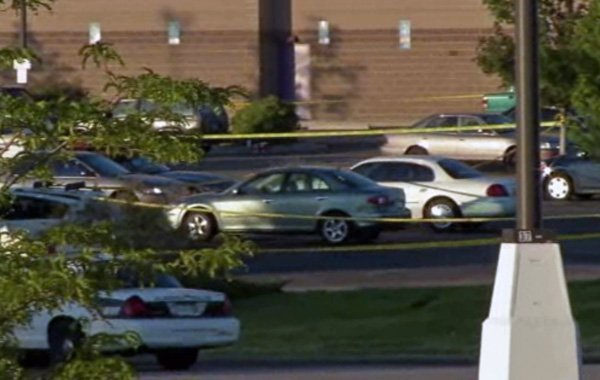 The mass shooting occurred at the Century 16 movie theater at the Aurora Town Center. (Source