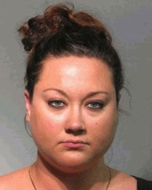 Shellie Zimmerman, 25, was arrested in June for allegedly lying to a judge about how much money her family had access to during her husband's initial bond hearing. (Source: Seminole County Sheriff's Office)