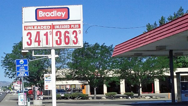 Taken on July 24, this picture shows the price of gas at a station in Wheat Ridge, CO. (Source: Paul Swansen/Flickr)
