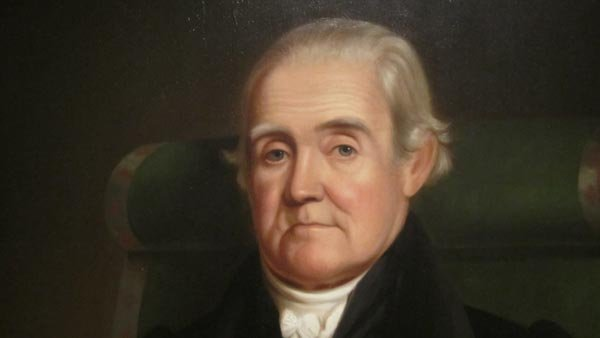 Noah Webster published his first dictionary in 1806. (Source: Wikimedia/National Portrait Gallery)