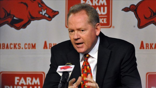 Former Arkansas head coach Bobby Petrino was only one of the people involved in controversy during the SEC offseason. (Source: Ryan Miller/MGN)