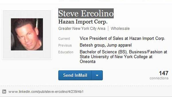Steven Ercolino, 41, was killed Friday shortly before officers shot Jeffrey Johnson. (Source: LinkedIn)