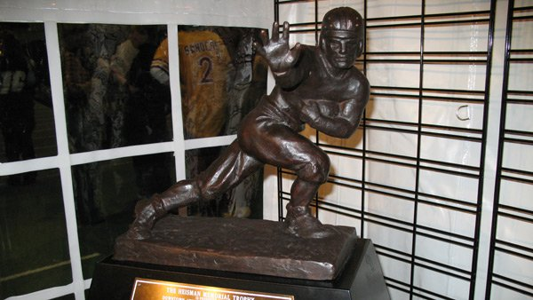 At least one SEC player has been a finalist for the Heisman Trophy for the last six years, but one for 2012 is not a sure thing. (Source: MECU/Wikipedia)