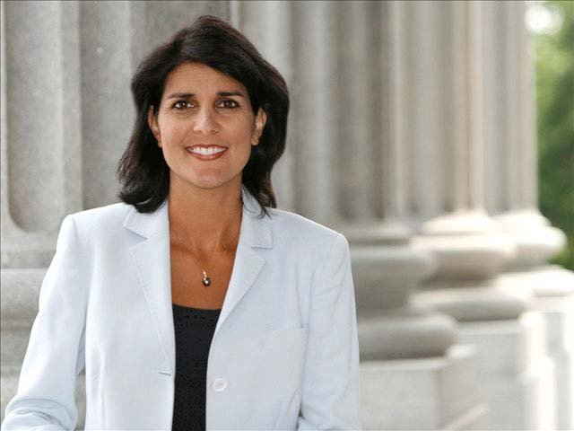 South Carolina Gov. Nikki Haley. (Source: Nikki Haley for Governor)