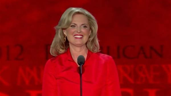 Ann Romney weaved personal and political during her speech to the Republican National Convention. (Source: CNN)