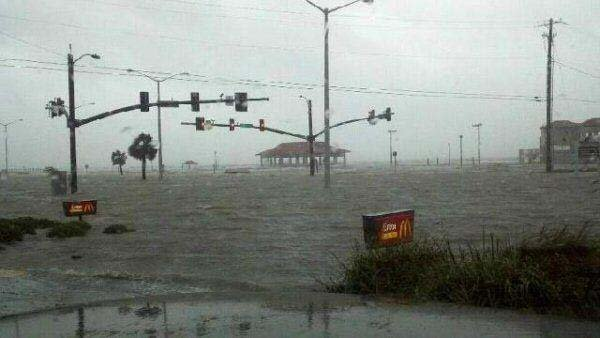 Parts of the Mississippi coast, like Long Beach, experienced severe flooding. (Source: WDAM/viewer photo)