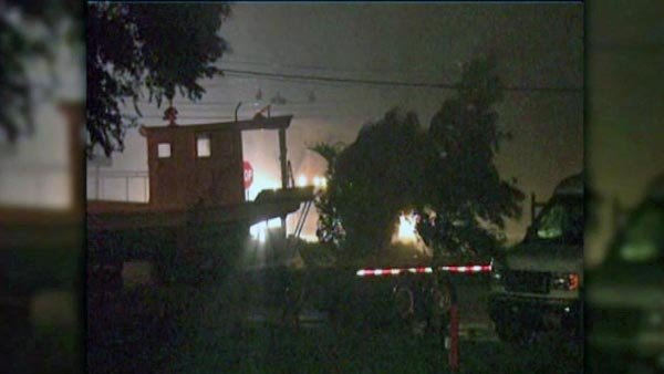 Communities in the western Florida panhandle, Alabama, Mississippi and Louisiana weathered the storm Monday night into Tuesday morning. (Source: WVUE/CNN)