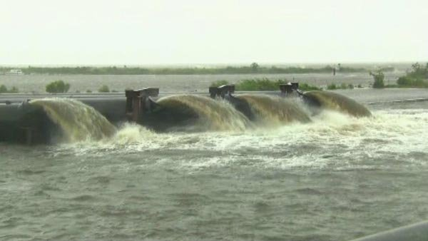 Pumps have played a crucial role in preventing floods. (Source: CNN)