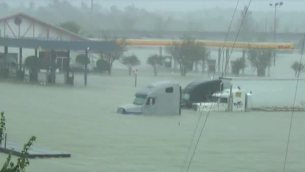 Isaac has been downgraded to a tropical depression, but evacuation orders are still in place. (Source: CNN)
