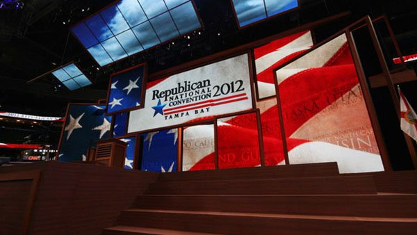 Everyone is buzzing about the possible mystery speaker at the RNC Thursday evening. (Source: Jennifer Bowen/RNN)