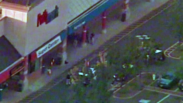 A mass shooting took place at a Pathmark Super Center in Old Bridge, NJ, Friday. At least three are reported dead. (Source: WABC/CNN)