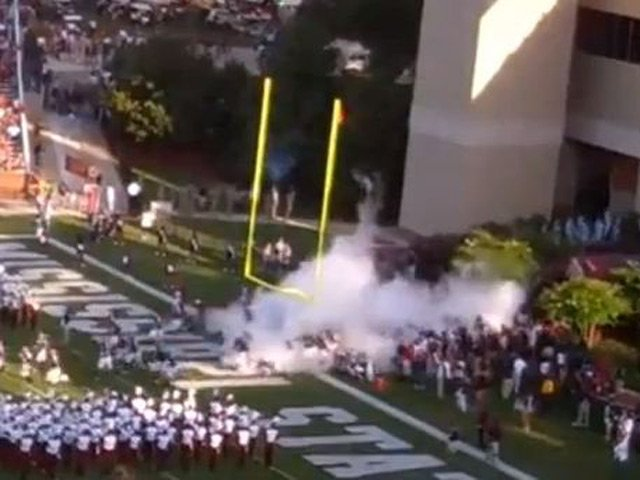 The Mississippi State Bulldogs had a great trip. They'll see you next fall. (Source: YouTube)
