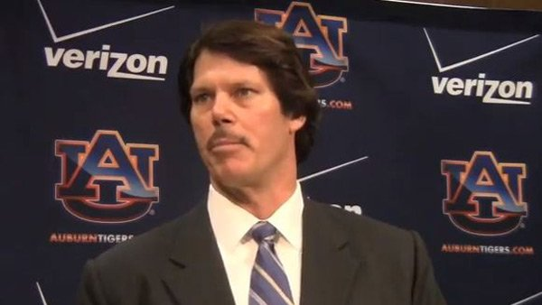 Auburn Tigers defensive coordinator or evening news anchor circa-1977? You decide. (Source: YouTube)