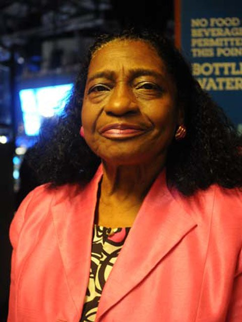 Mary Groves Bland, 76, has been to nearly every Democratic National Convention for 50 years. (Source: Cecelia Hanley)