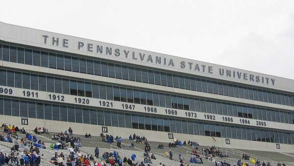 Beaver Stadium is the home of the Penn State Nittany Lions football team. (Source: Billma/Wikimedia)