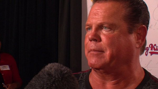 "Jerry ""The King"" Lawler suffered a heart attack during a live telecast of WWE Raw on Monday. (Source: CNN)"