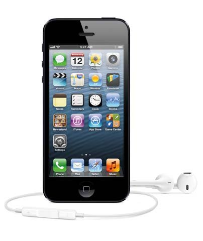 Apple unveiled the new iPhone 5 with new headphones called EarPods. (Source: Apple)