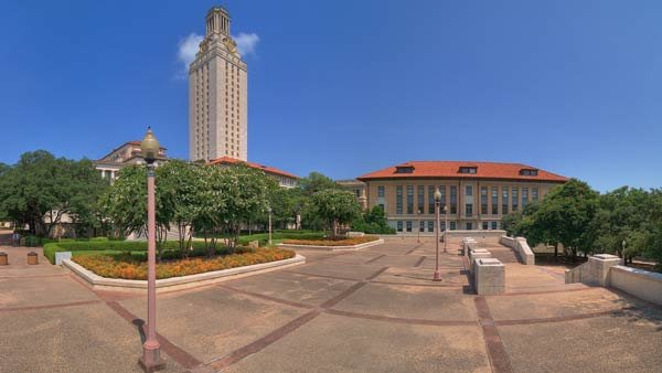 University of Texas in Austin officials ordered an evacuation after a bomb threat was made Friday. (Source: UT-Austin)